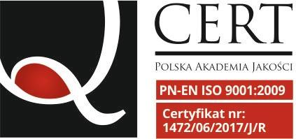 Certyfikat Polskiej Akademii Jakaości